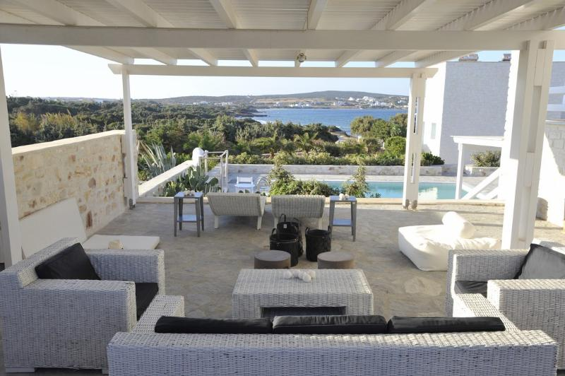 Outdoor furnishing - Blue Villas | Nemesis | Luxury Villa in Paros - Naoussa - rentals