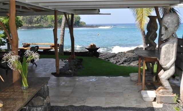 Oceanfront Private Home, Magic Sands, Lymans Bay - Image 1 - Kailua-Kona - rentals