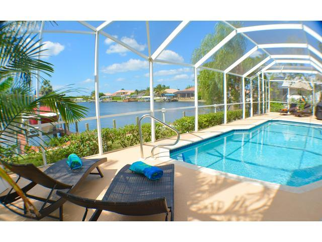 view - Villa Stardusk, modern home on intersecting canals - Cape Coral - rentals