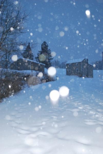 Winter at the Farmhouse - Hideaway Hollow Farm, LLC - The Farmhouse - Imler - rentals
