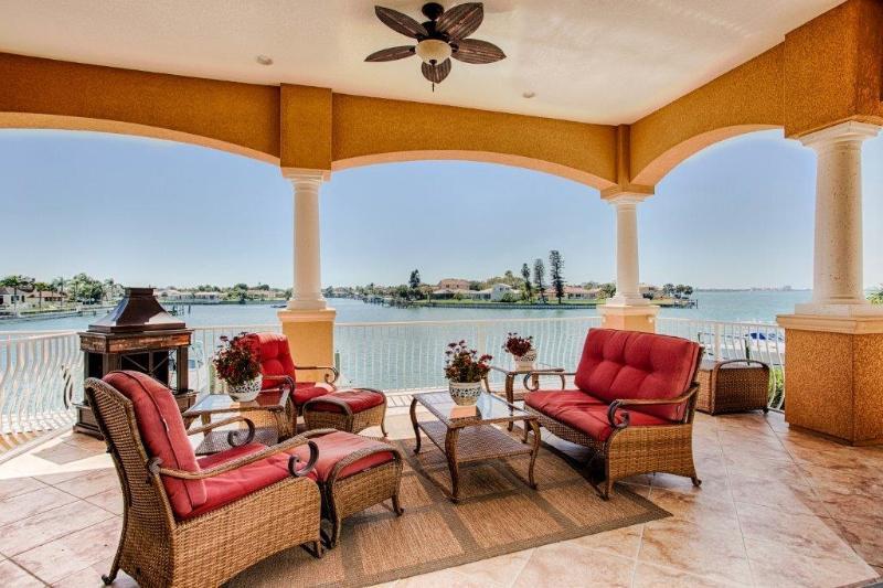 Outdoor Living - Huge Waterfront Lanai - Enjoy Casual Elegance at Boca Bay House! - Saint Petersburg - rentals