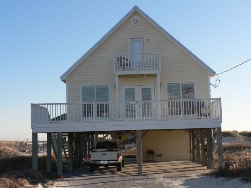 Front of KC's Cove - BOOK FOR SPRING BREAK;BEACH SIDE; SLEEPS 8;PETS - Fort Morgan - rentals
