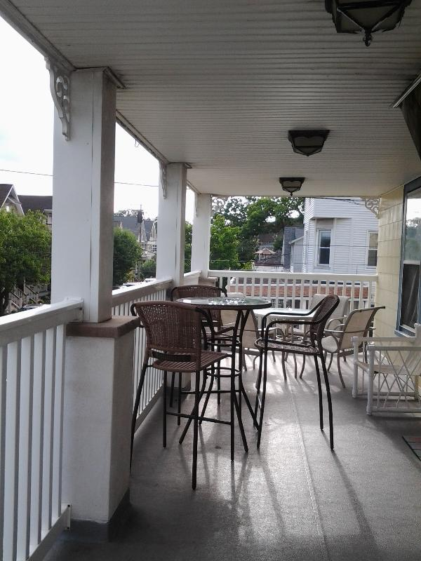 large private deck - Summer Beach Rental has Private Deck w/ Ocean View - Ocean Grove - rentals