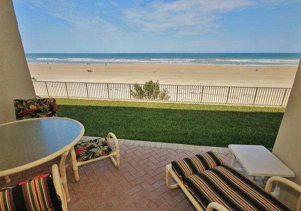 Direct ocean front, first floor non-driving beach, jacuzzi - Image 1 - New Smyrna Beach - rentals
