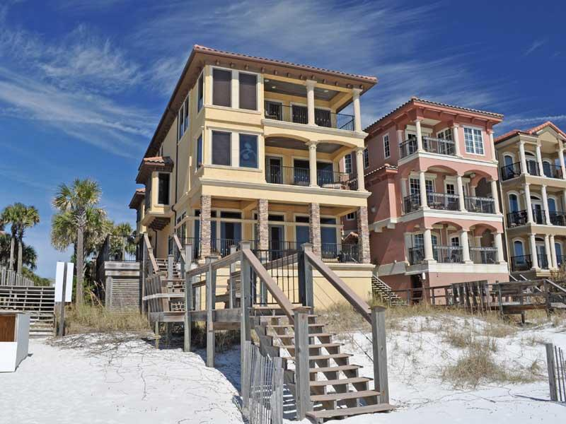 Beautiful 7 Bedroom Home in Destin on the Beach! - Image 1 - Destin - rentals