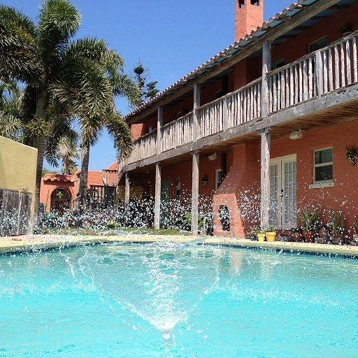 Pool Area - Little Mexico with Old World Charm - Saltillo - Port Isabel - rentals