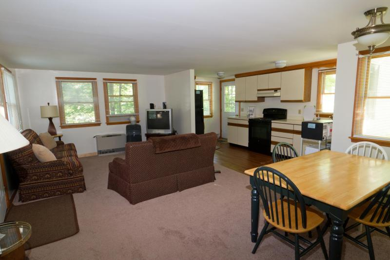 Living/Dinning/Kitchen - Two bedroom home, steps from Perkins Cove. Full AC - Ogunquit - rentals