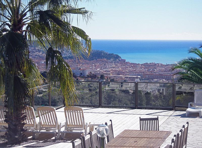 """Roof of Nice"" with heated pool, big garden, spa,. - Image 1 - Nice - rentals"