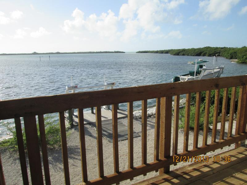 ENDLESS VIEWS FROM DECK - Oceanfront Home Rental in Ramrod Key, Florida - Ramrod Key - rentals
