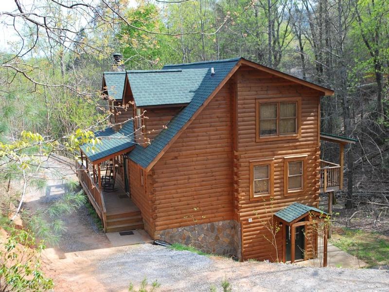 Log cabin in Blue Ridge Mountains,LAKE,RIVER,BEACH - Image 1 - Lake Lure - rentals