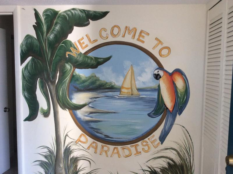 Entrance Mural - Georgeous Ocean Front Condo -- Mini-week - Ocean City - rentals