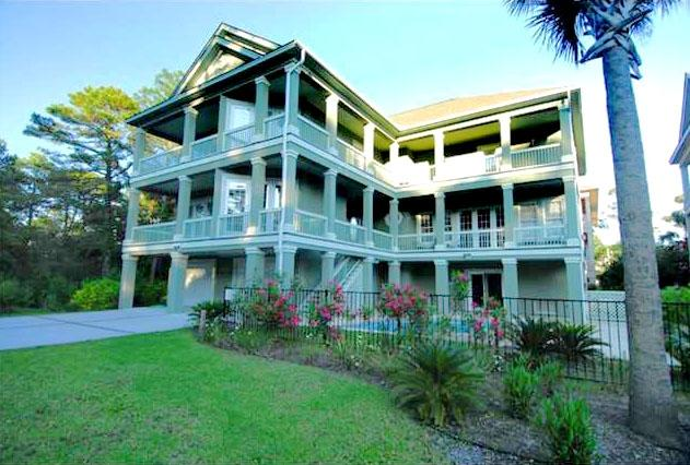 A GREAT ESCAPE - Front of house - A Great Escape - Hilton Head - rentals