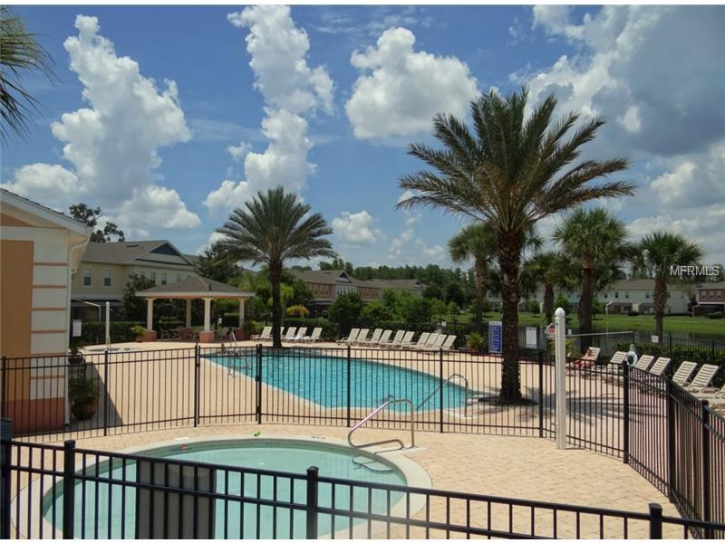 community pool and spa - Bargain Luxury Townhome -Disney area - Old Town - rentals