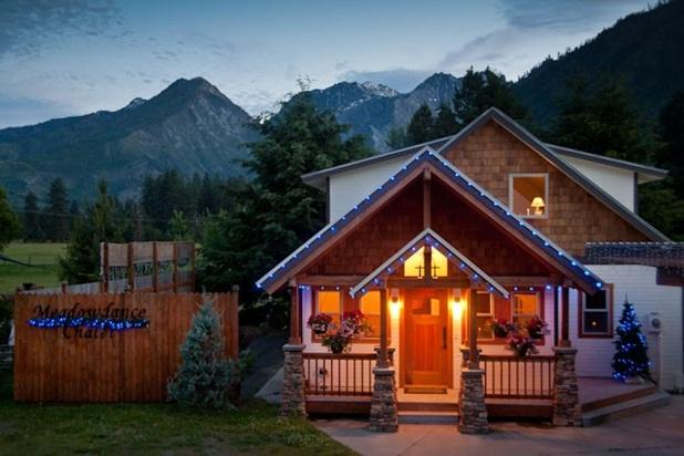 Cozy, quiet and relaxed with stunning views. - Custom Home with Magnificient Mountain Views - Leavenworth - rentals