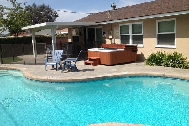 Private heated swimming pool and hot tub. - Across from Disney Private Pool & Hot Tub! - Anaheim - rentals