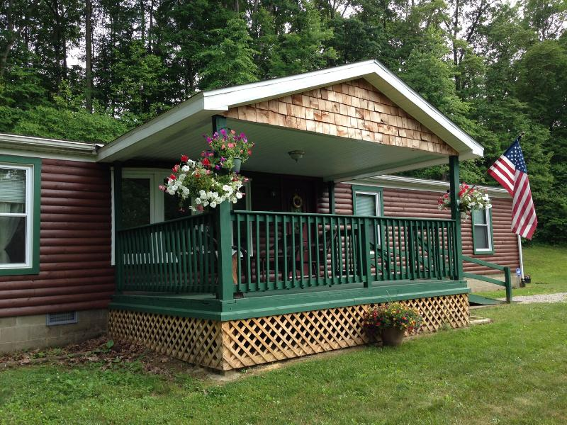 Bobcat Cabin Located In Hocking Hills Ohio & Wayne - Image 1 - Nelsonville - rentals
