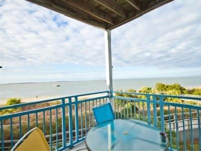 Breathtaking views from huge wrap around balcony! - Beachfront Heaven! Exquisite water views! Corner! - Tybee Island - rentals
