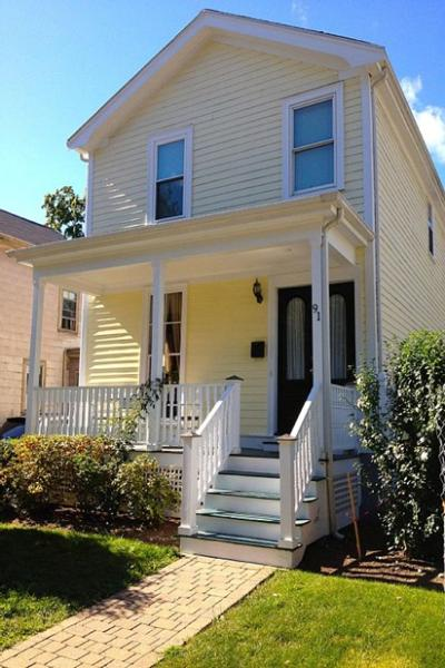 """Our new single-family Boston home, near restaurants, \""""T,\"""" downtown attractions - In-city Boston house, steps to bus and subway! - Boston - rentals"""