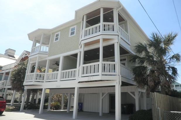 Luxurious Ocean View 6-Bed Home on Carolina Beach - Image 1 - Carolina Beach - rentals