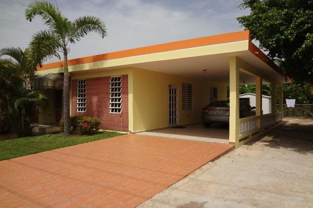 Front View of our well maintained Home - Lovely Home Just 3 Min. from Jobos De Playa Beach - Isabela - rentals