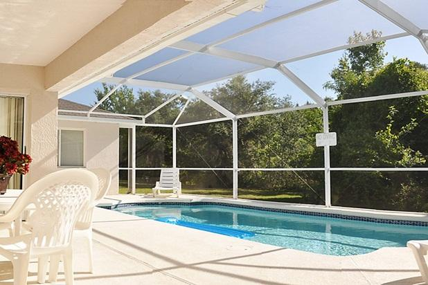 Your own private pool - professionally maintained and heated to 89 degrees! - Most private backyard in Orlando! Minutes 2 Disney - Loughman - rentals