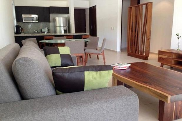 Open Concept Living Room and Dining Room - LUXURY Condo on Golf Course - Akumal Riviera Maya - Akumal - rentals