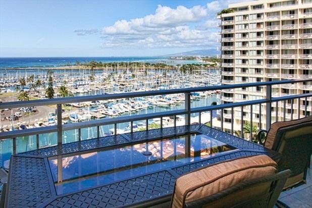 Steps to Beach Ilikai 1102 Ocean Sunset Remodel - Image 1 - Waikiki - rentals