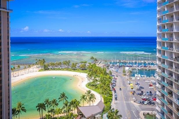 Waikiki Ilikai Suites 1820 Ocean/Lagoon View - Image 1 - Waikiki - rentals