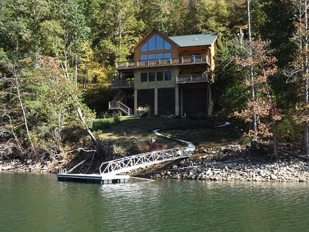 View from the Lake - True Lakefront/WiFi/Fireplace/Jacuzzi/Canoe/Kayak - Butler - rentals