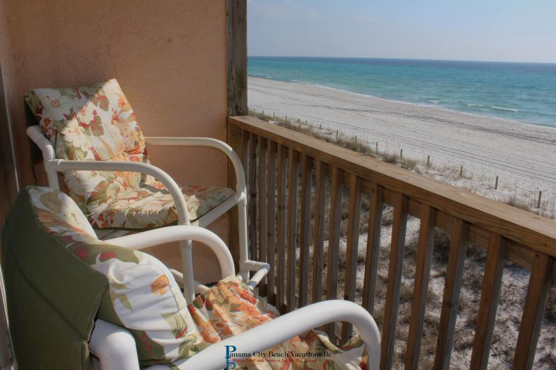 Balcony - Gulf Front 2BR/2BA Nov Specials Stay 3 Get 1 Free - Sunnyside - rentals