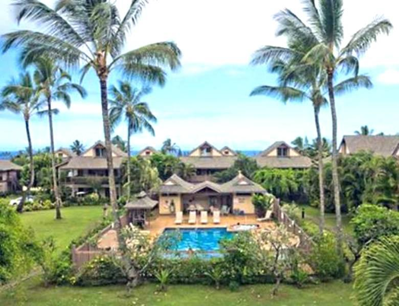 PRINCEVILLE PARADISE'S POOL, SPA & BBQ AREA FOR YOU TO ENJOY DURING YOUR STAY! - Princeville Paradise's Kauai Beach Vacation..NEW! - Princeville - rentals