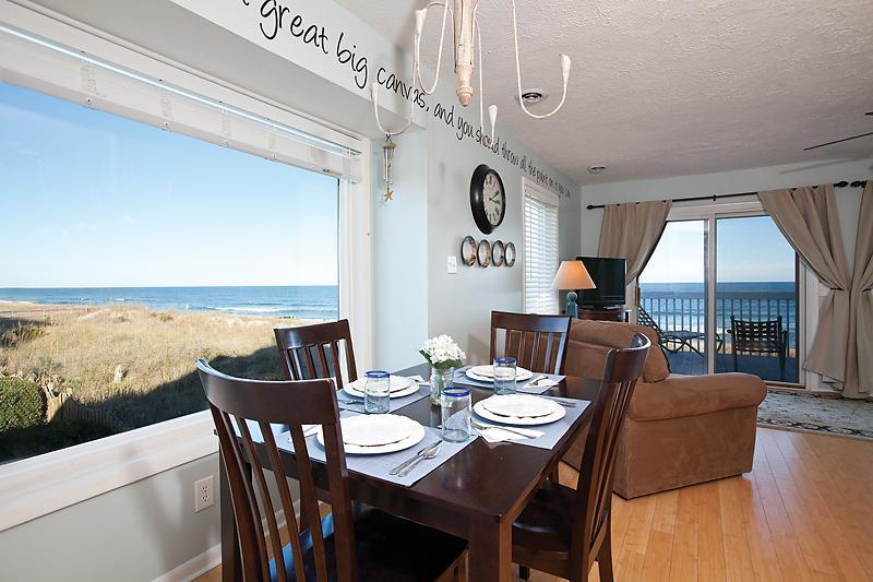 Dining Room - Jan 1 - March/April Winter Rental Available - Kure Beach - rentals
