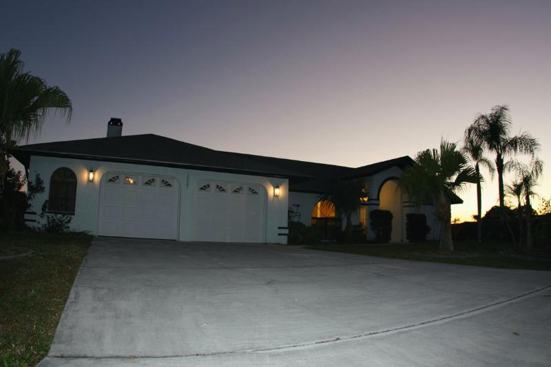"street view - watch the sunset from the side of your pool"" - Punta Gorda - rentals"