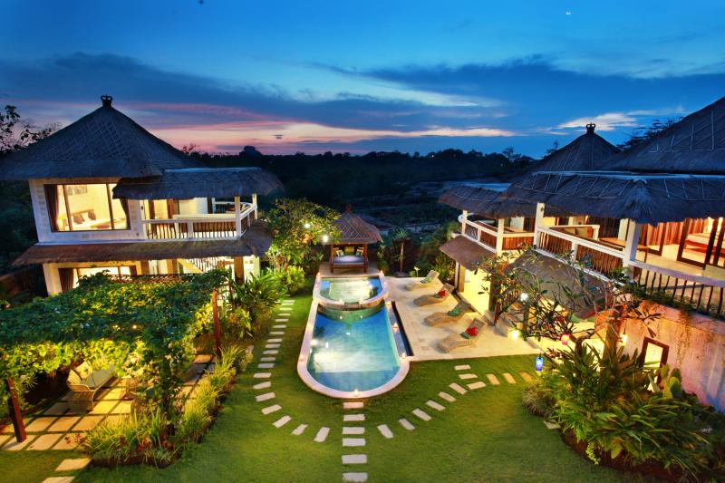dream villa for families and friends in bali - american villa for families and friends in Bali - Ungasan - rentals