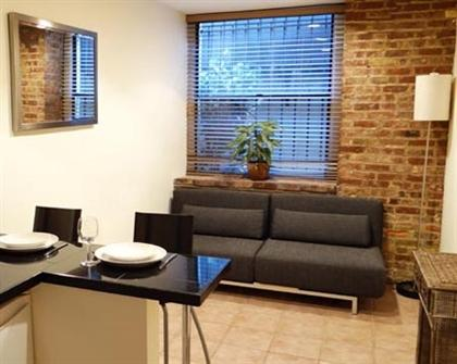 Living/Dining room area - Studio with Alcove sleeps 4! - Manhattan - rentals
