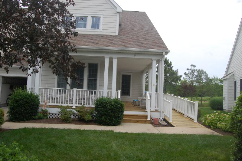 Front Porch - Beautiful Townhouse on the Golf Course - Ocean View - rentals