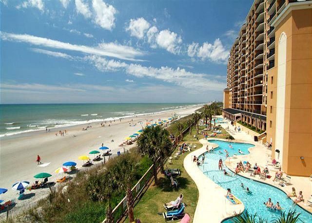 Awesome 3/3 oceanfront at Island Vista Resort! - Image 1 - Myrtle Beach - rentals