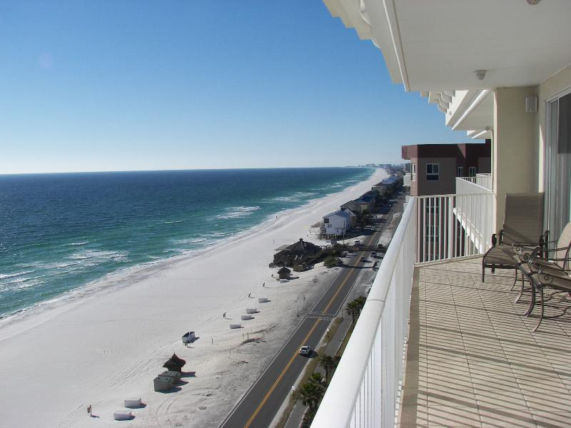 Incredible views from extra wide balcony! - Majestic Sun B1204*Top Floor*Incredible Views*Nice - Destin - rentals
