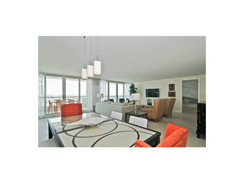 Dining/Living Room - Modern, penthouse, luxury 2 bedroom condo - Miami - rentals