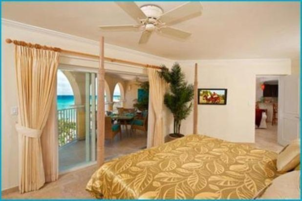 Master Bedroom - Sapphire Beach 305 - Christ Church - rentals