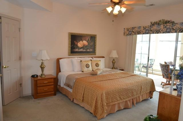 Very spacious king master suite walks out to the sunroom. - Legacy Condo with Fantastic Golf Course Location - Branson - rentals