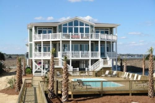 12Bedroom Ocean Front! Perfect for Family Retreats - Image 1 - Holden Beach - rentals