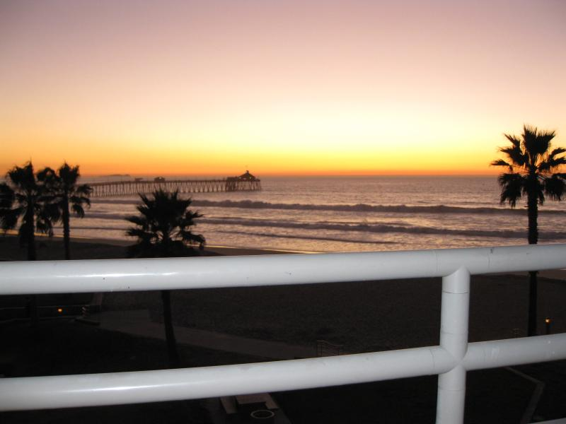 From the Balcony - San Diego Cty Oceanfront 2 BR sleeps 7 Heated Pool - Imperial Beach - rentals
