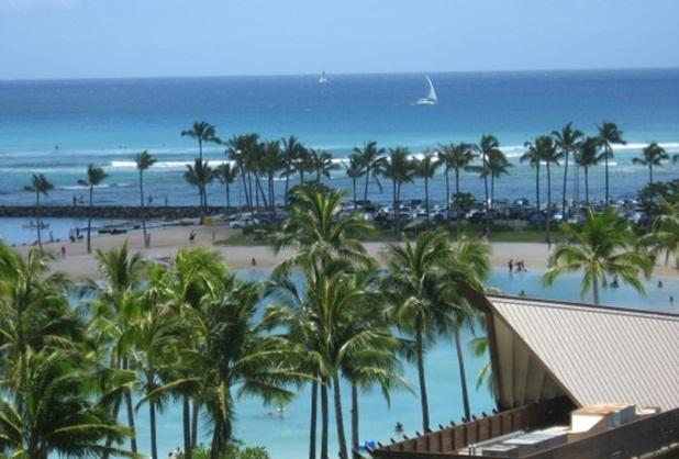 OCEAN & LAGOON VIEWS! STEPS TO WAIKIKI BEACH - Image 1 - Waikiki - rentals