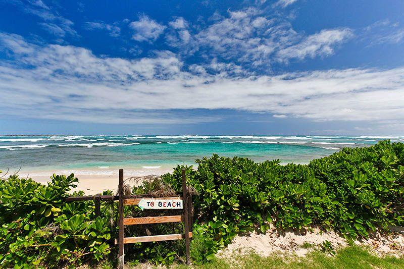 Property is immediately Beachfront - Hawaiian Beachfront Hideaway - Laie - rentals