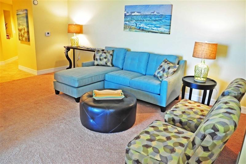 Living room area.. - Luxury Oceanfront 3bed/2Bath Condo @ Opus #401 - Daytona Beach Shores - rentals