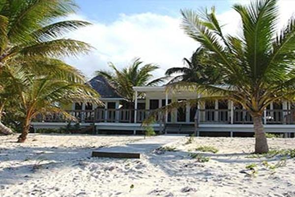 Front of the house. - Whitby Beach Cottage - North Caicos - rentals