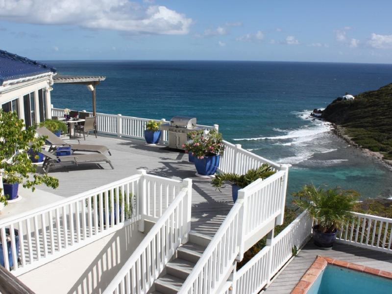 Andante by the Sea, 3 bdrm, 3 bath, Oceanfront - Image 1 - Cruz Bay - rentals