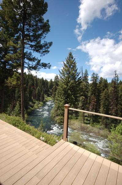 Perched above the Payette River.  Private, path access and small beach. - Cloud Nine - Payette River, private beach and path - McCall - rentals