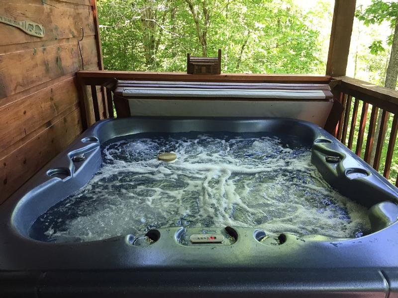 Do you wish you were here? Come relax in the h. tub or swing & see great view!! - Secluded! Private! Come to Lazy Bear to Get Away - Gatlinburg - rentals